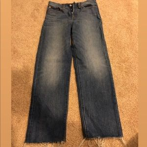 Levi's Wedgie Fit Straight Denim Jeans